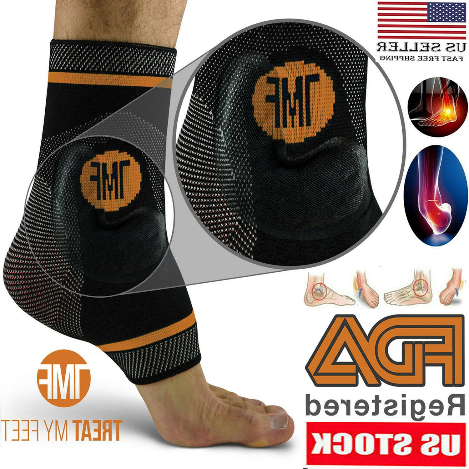 best copper infused compression ankle brace silicone