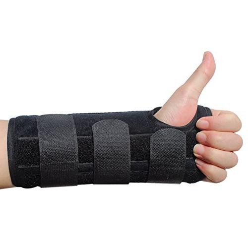 KNASI Tunnel Hand Orthopedic Wrist Fracture Splint Brace for Tendonitis Wrist Women Man