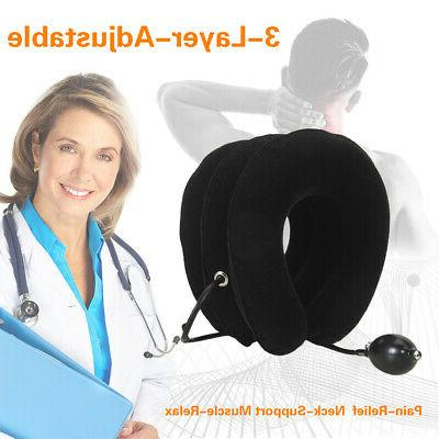 Cervical Neck Traction Device Relife Stretcher