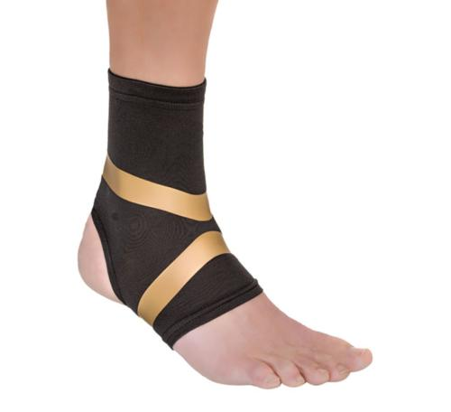 Copper Fit Pro Compression Ankle Sleeve Arthritis Relief Mot