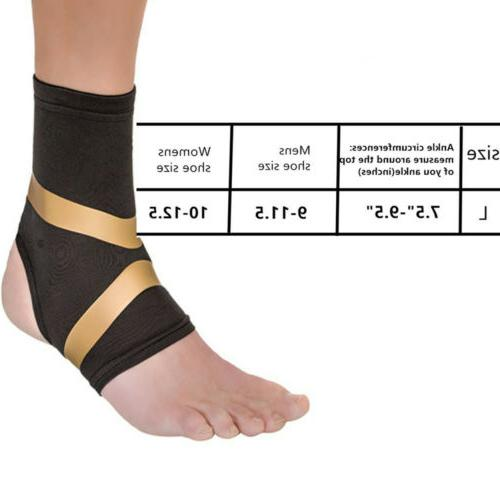 Copper Fit Pro Ankle Relief Motion Support