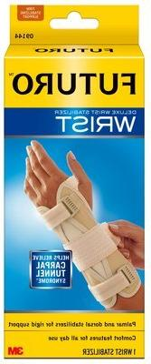 FUTURO Deluxe Wrist Stabilizer 09137ENT, Right Hand, L/XL