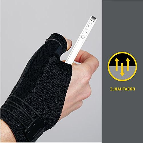 Helps Relieve Carpal Tunnel Syndrome, Firm Stabilizing Support, Hand, Small/Medium, Gray
