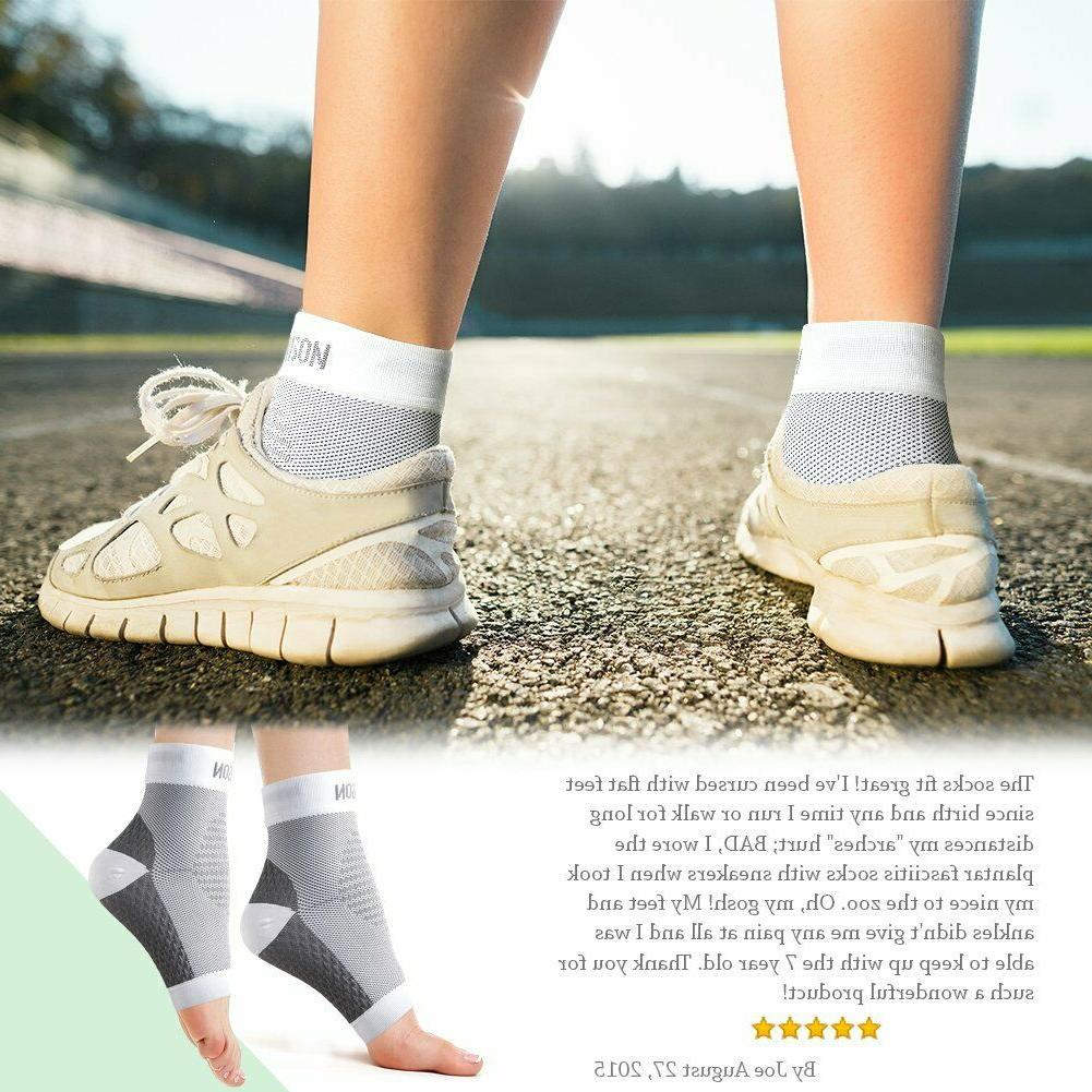 DR.ANISON Doc Fasciitis Arch Support Compression Ankle