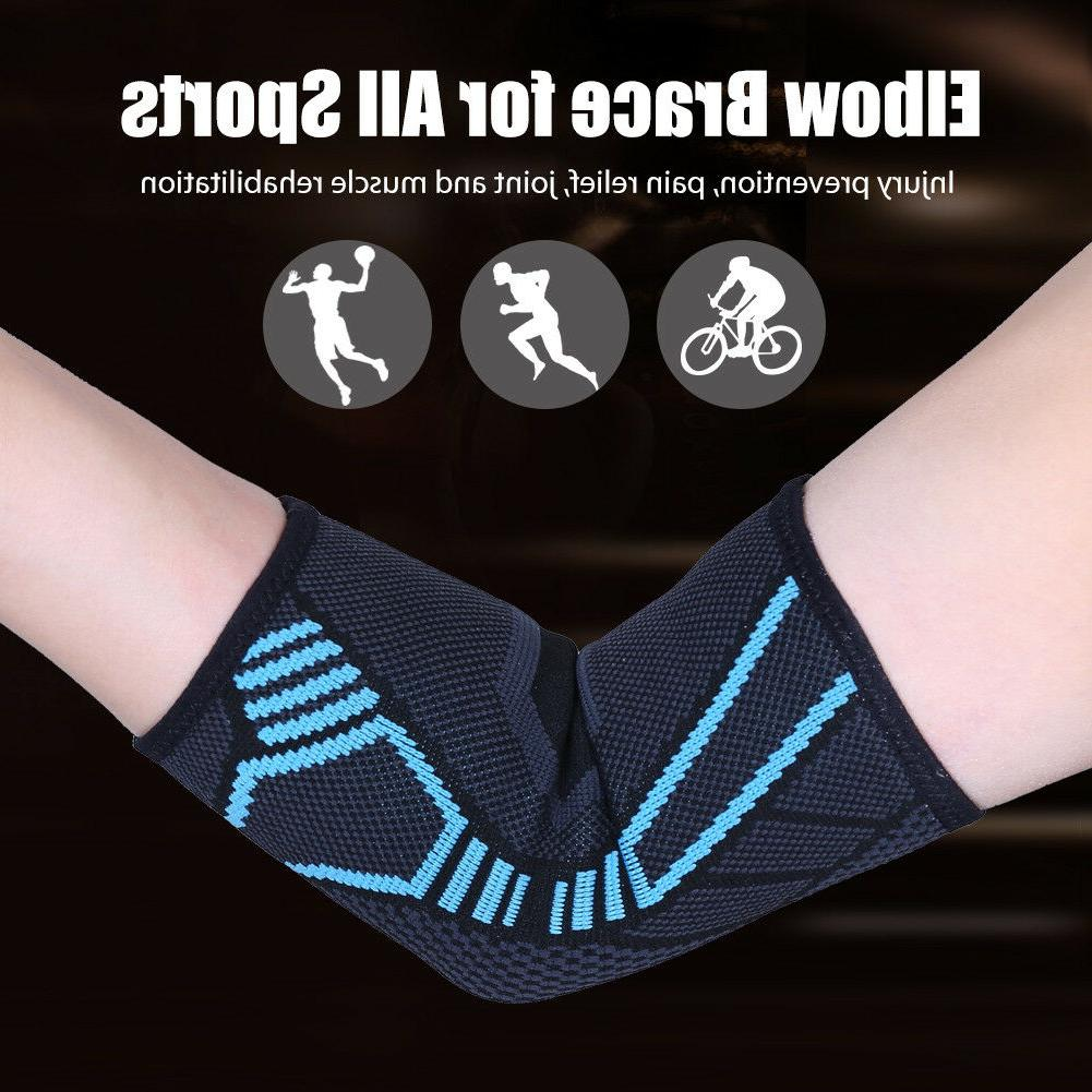 Elbow Support Elastic Pain Relief All sizes New