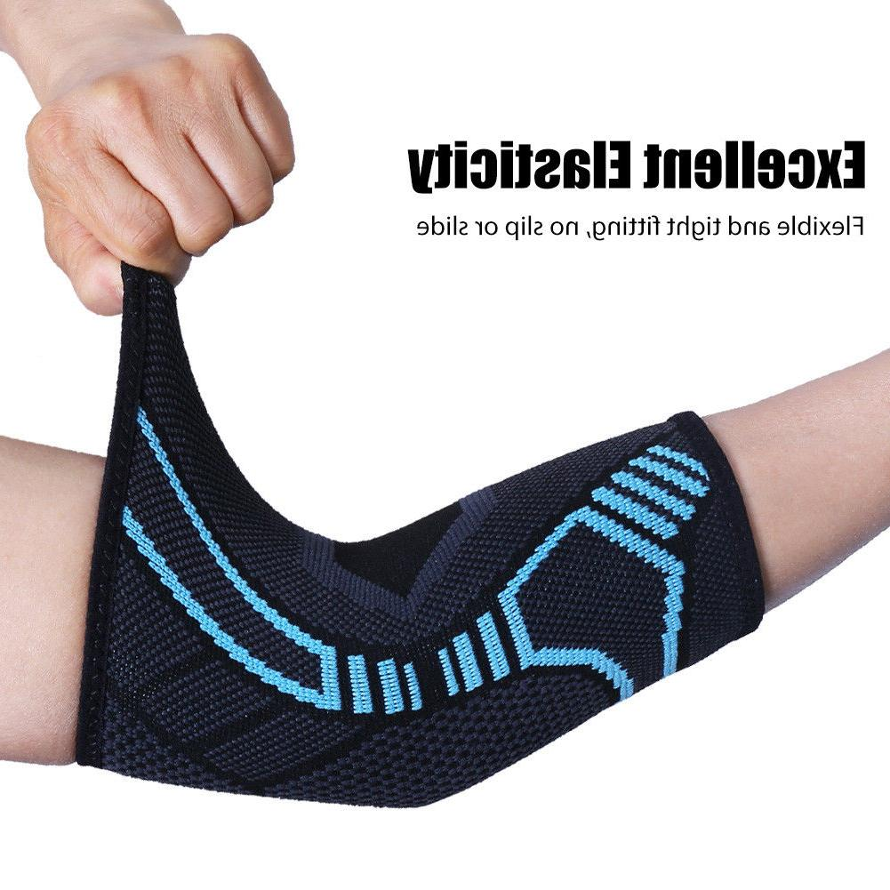 Elbow Sleeve Forearm Support Brace Relief All sizes New