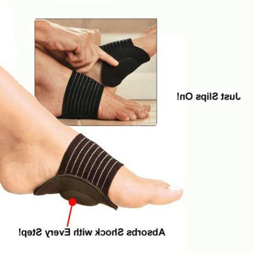 JERN Thick Compression Arch Support More Comfort Plantar Fasciitis, Arches, Heel and Achy Foot Problems