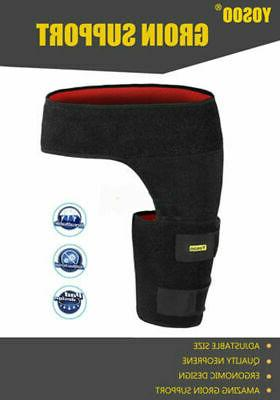 Groin Thigh Strain Pain Support Hip Injury