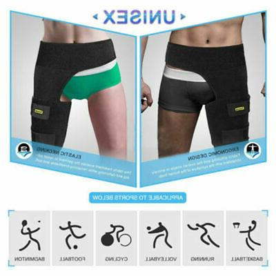 Groin Thigh Brace Strain Pain Injury Recovery Relief