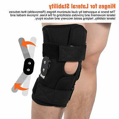 Knee Hinged Compression Sleeve Joint Support