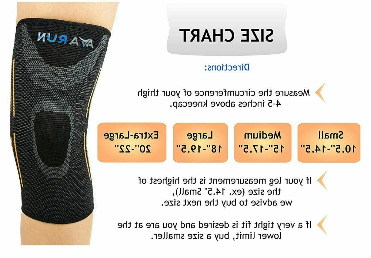 Knee Compression Support Pain Sport