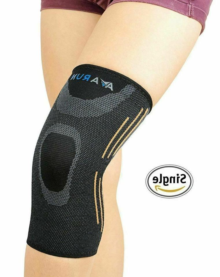 knee compression sleeve support brace for joint