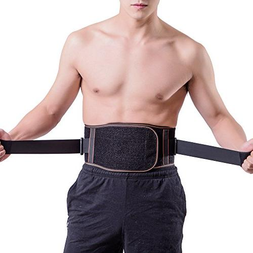 King Kings Lower Back Pain Relief with Lumbar Belt Women and - Adjustable Sciatica, Scoliosis or Disc Medium