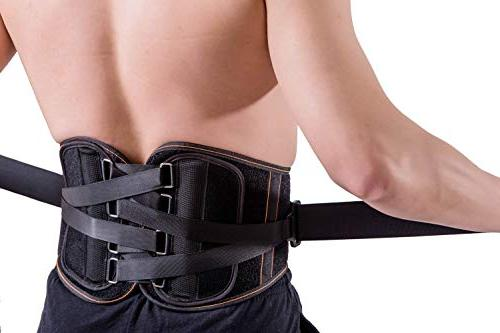 Back Brace with System Lumbar Belt for Women and Men Adjustable Waist for Sciatica, Spinal or Herniated Medium