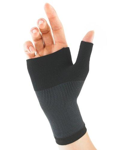 Thumb Support - For Tendonitis, Sports - Black
