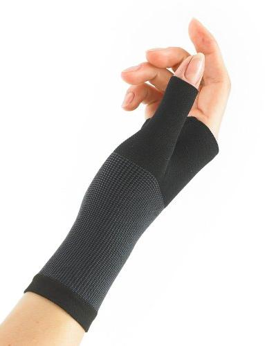Neo Thumb Support - For Arthritis, Tendonitis, Sprains, Hand Sports - Compression Airflow - Class Device Medium - Black