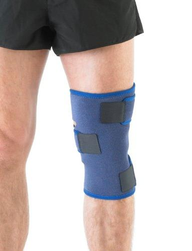 Neo Knee Brace Support For Arthritis, Pain, Injuries, Rehabilitation - Adjustable - Class 1 Device - One - Blue