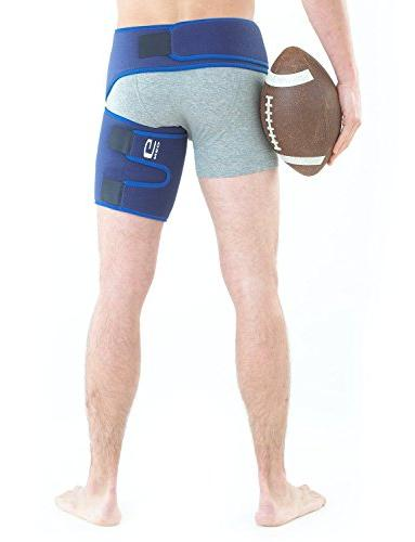 Neo G - Pain, Nerve Thigh, Hamstring Recovery and Rehab Adjustable Wrap - Size -