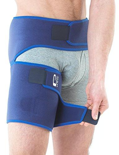 Neo - Pain, Pulled Groin, Nerve Hip, Hamstring Recovery and Rehab - Wrap Medical Size