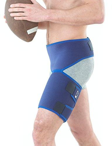 Neo G - Pain, Pulled Nerve Hamstring Recovery Rehab Adjustable Wrap - Medical Device Size - Blue