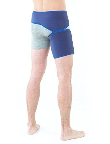 Neo Brace - Support Nerve Hip, Hamstring Injury, Recovery Rehab Compression Medical Device Size
