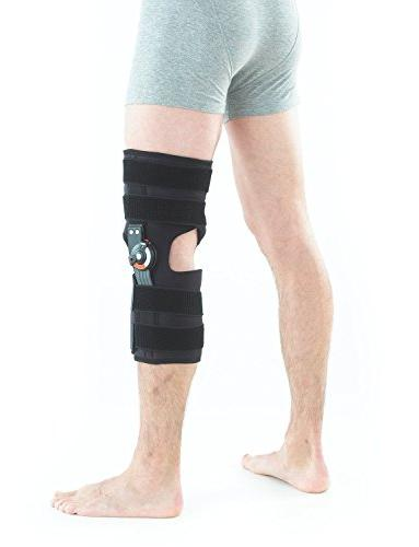 Neo G Brace, Fit - Open Patella Support For Arthritis, Joint Tendon, Injury Recovery Dials 1 Medical Size