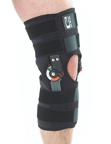 Neo Hinged Brace, Fit - For Arthritis, Tendon, Injury - Dials - Medical - Size -