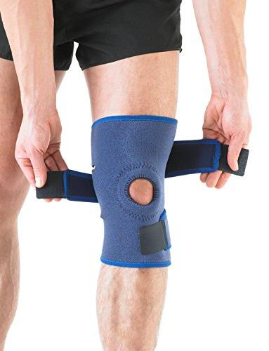 Neo Open Knee Brace - For Arthritis, Join Meniscus Basketball, Running Compression Class Medical Device One