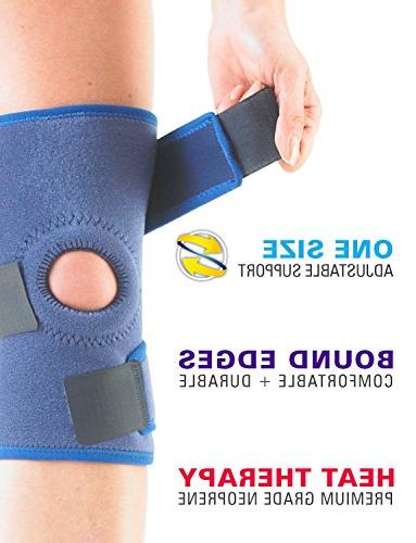 Neo G Brace Arthritis, Join Meniscus Pain, Recovery, Basketball, Running - Adjustable Compression 1 Medical - Size