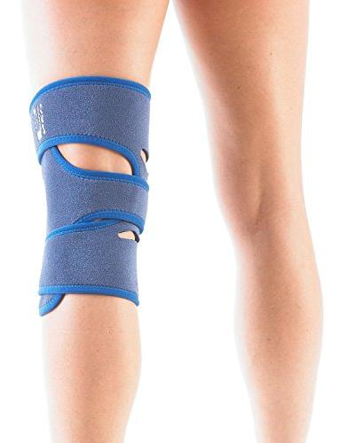Neo Open Knee Brace - Support Meniscus Basketball, - Adjustable Compression - Class Medical