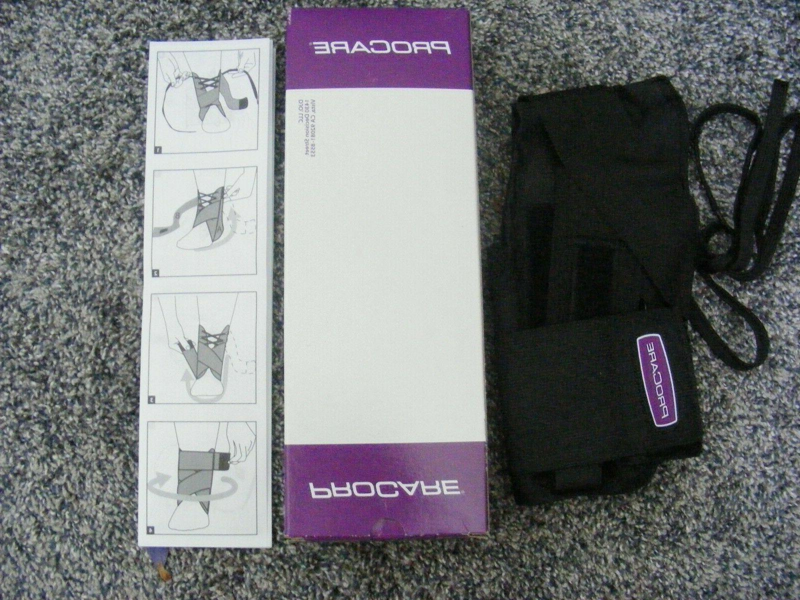 pair of 2 stabilizing ankle support brace
