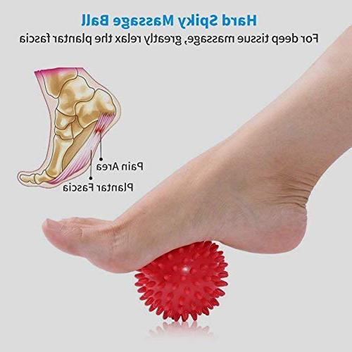 Plantar Support, Drop Foot Kit with Ball Foot Night Splint Plantar Stretch, Achilles, Fits or Right Foot
