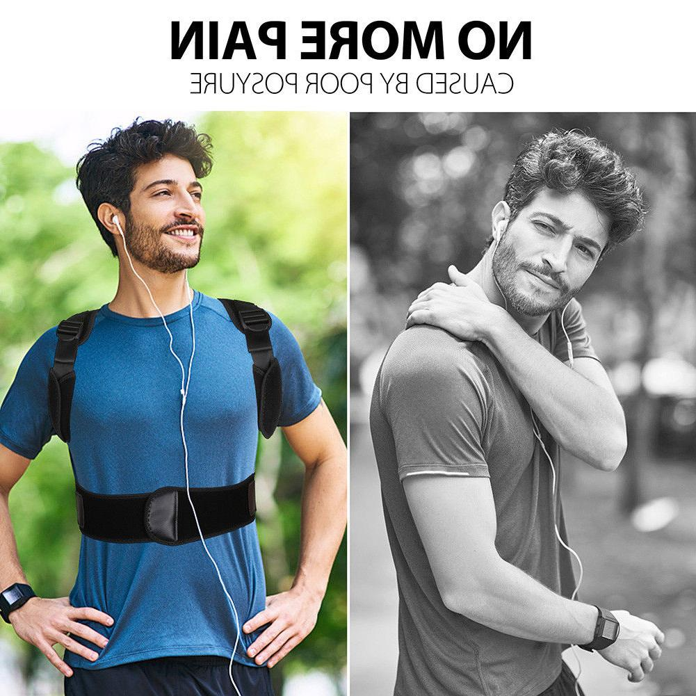 Posture Corrector Back Support Brace Belt Therapy