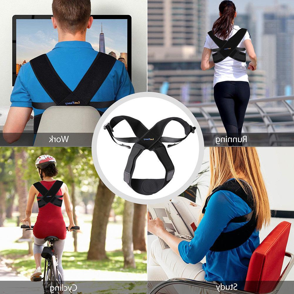 Posture Corrector Support Brace Belt Adjust Men Kids