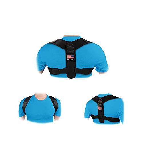 Truweo Posture Corrector For Men USA Upper Brace Clavicle Support And Providing Relief From Neck, Shoulder