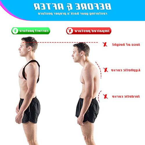 Truweo Posture Men And USA Designed And Providing Pain From Neck, Back Shoulder