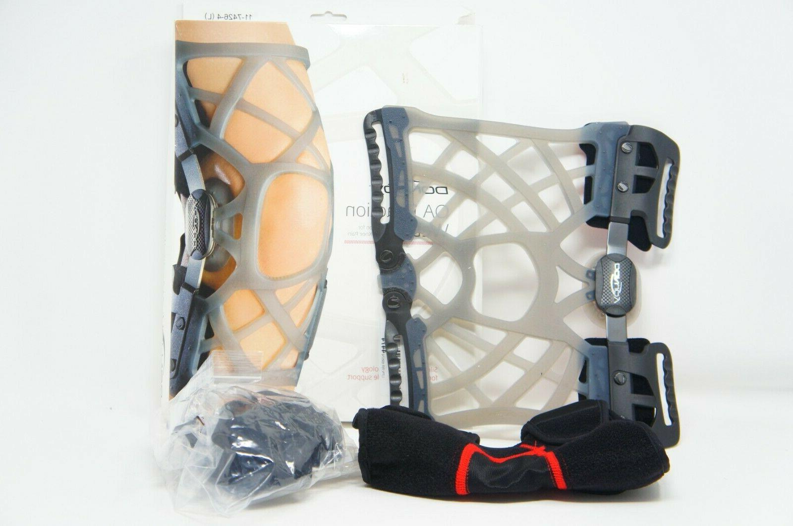 reaction web knee support brace w compression