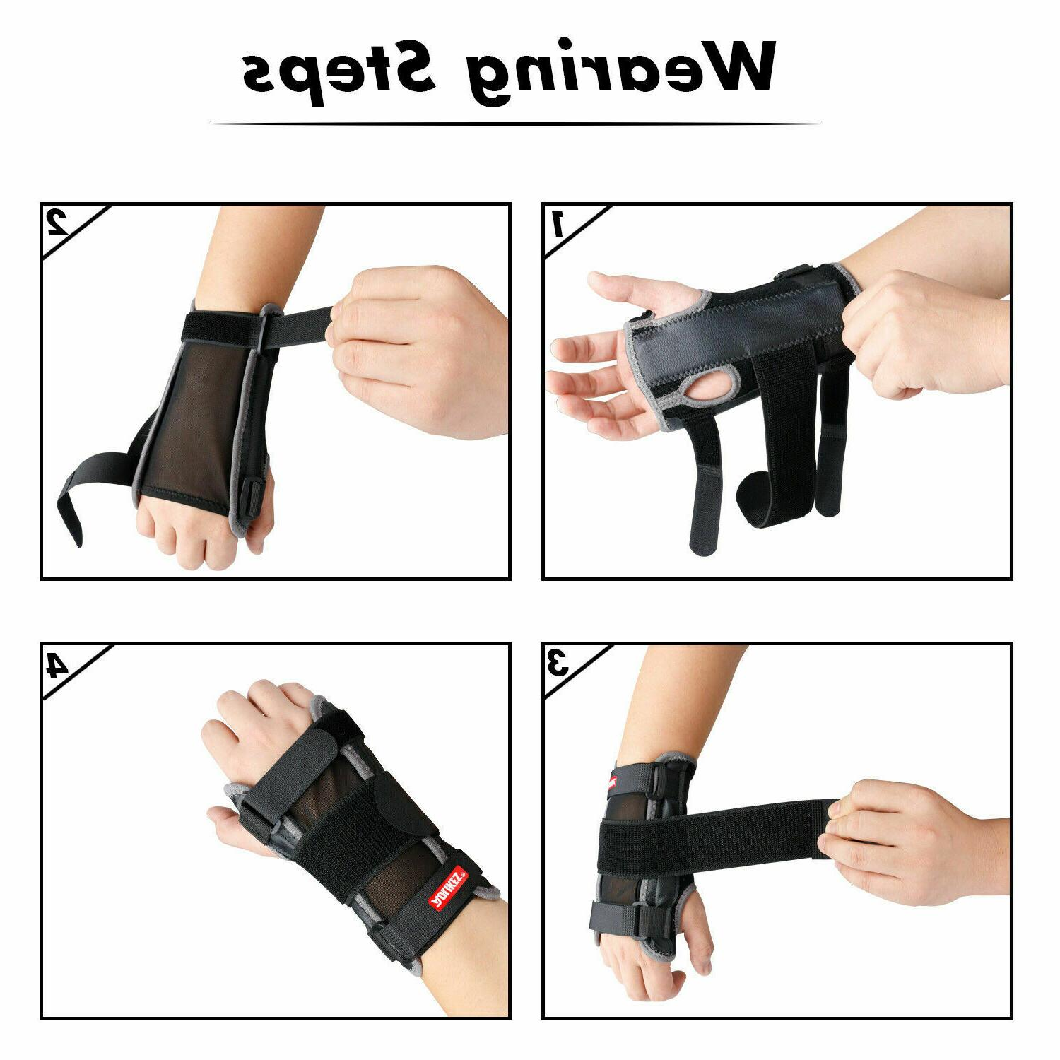 Right Brace Tunnel Sprain Arthritis