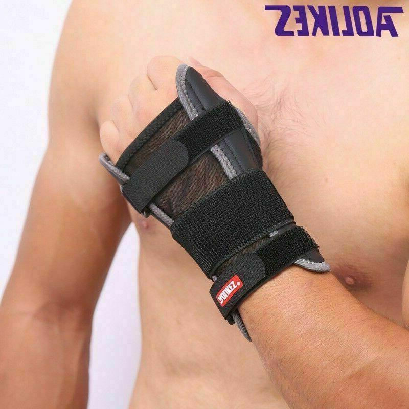 Right Wrist Brace Support Splint Tunnel