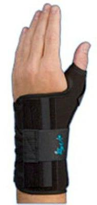 MedSpec Ryno Lacer Wrist Support, Black, Universal Left or R