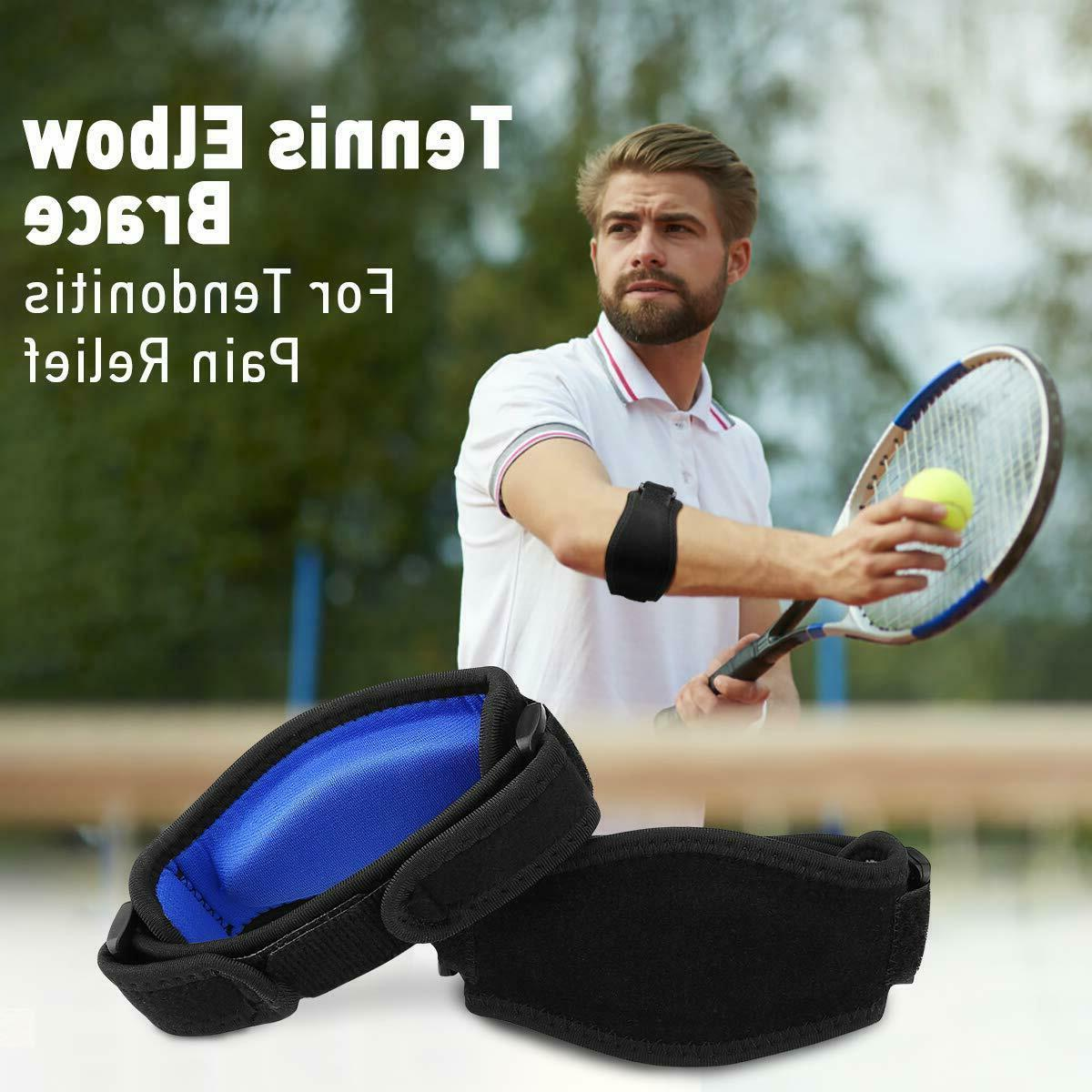 Tennis Elbow Tendonitis Gel Band Golf US