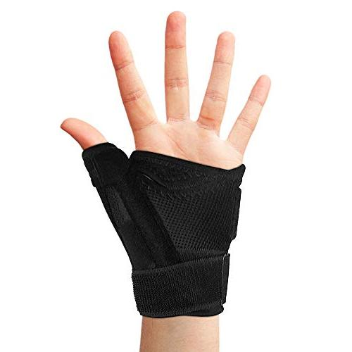 Thumb Thumb Spica for Tendonitis More. Both Right Left and Wrist, Hand, and Trigger Thumbs Support