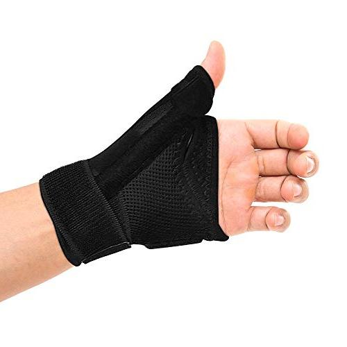 Thumb Brace - Thumb Spica Splint Tendonitis and Both Left and Women. and Thumb Trigger Braces