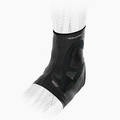 trizone ankle support brace and compression black