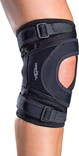 DonJoy Tru-Pull Lite Knee Support Brace: Right Leg, Medium