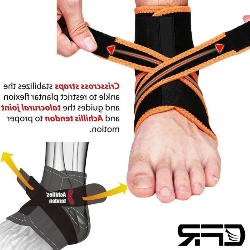 DonJoy RocketSoc Ankle Support Brace: Neoprene, Left Foot, X