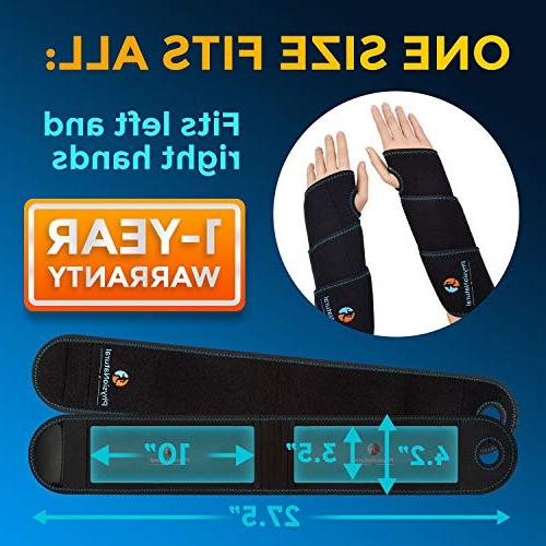 Wrist Ice - & Therapy Relief Carpal Tunnel, Tendonitis, Injuries, Arthritis, Bruises & - Hand with