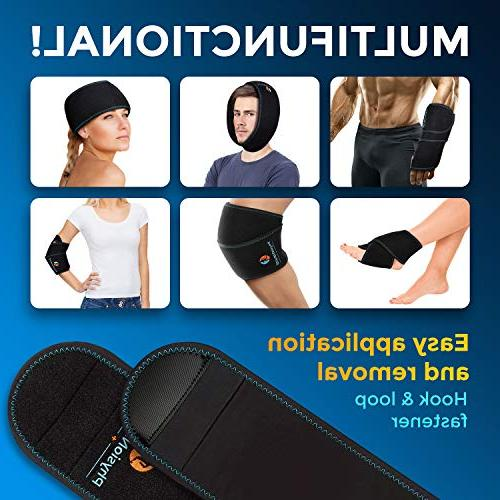Wrist Ice Pack - & Cold Therapy for Instant Pain Relief of Tendonitis, Injuries, Arthritis, Bruises - with Gel