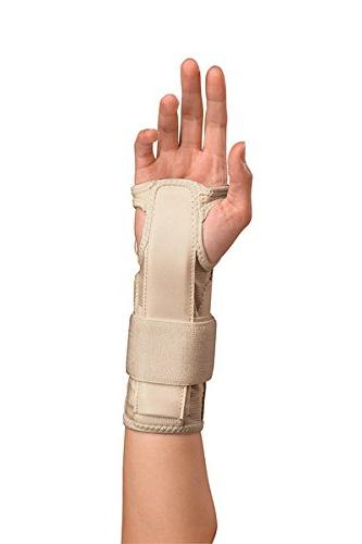 Mueller Wrist Stabilizer, Small/Medium, Beige,