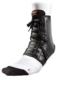 McDavid Level 3 Ankle Brace/Lace-Up with Inserts, Black, Sma